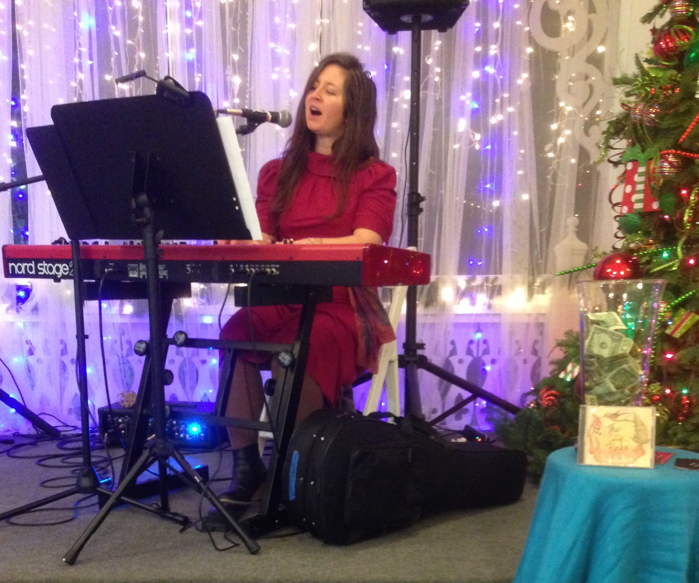 Joni Clare Performs at 'House of a Million Lights'